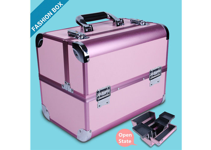 Permanent Makeup Tattoo Tool Box , Aluminum Alloy Tattoo Machine Box